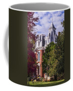 Victorian Home In Autumn Photograph As Gift For The Holidays Print Coffee Mug