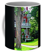 Victorian Home Painted Version Coffee Mug