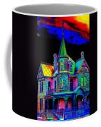Victorian House Pop Art Coffee Mug