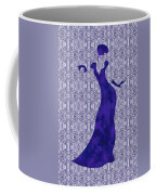 Victorian Lady In Blue Coffee Mug