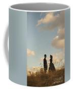 Victorian Man And Woman Coffee Mug