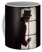 Victorian Man At A Window Coffee Mug