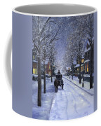 Victorian Snow Coffee Mug by Alecia Underhill