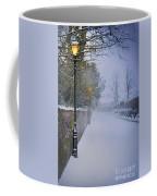 Victorian Winter Street Scene Coffee Mug