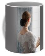 Victorian Woman At The Window Coffee Mug
