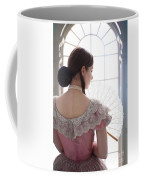 Victorian Woman By A Window Coffee Mug