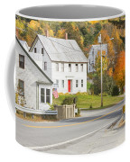 Vienna Maine In Fall Coffee Mug by Keith Webber Jr