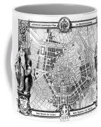 Vienna: Plan, 1860 Coffee Mug