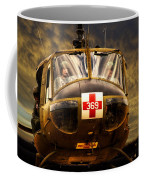 Vietnam Era Medivac 369 Helicopter Coffee Mug