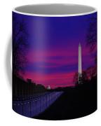 Vietnam Memorial Sunrise Coffee Mug