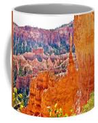 View At Beginning Of Navajo Trail In Bryce Canyon National Park-utah Coffee Mug