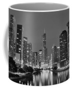 View Down The Chicago River Coffee Mug