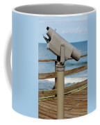 View Finder At The Beach Coffee Mug