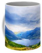 View From Bealach Ratagan To The Five Sisters Of Kintail Coffee Mug