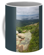 View From Cadillac Mountain - Acadia Park Coffee Mug