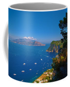 View From Capri Coffee Mug