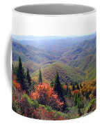 View From Devil's Courthouse Mountain Coffee Mug