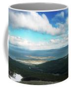 View From Martial Glacier, Ushuaia Coffee Mug