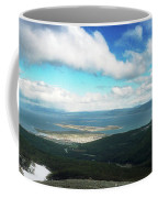View From Martial Glacier, Ushuaia Coffee Mug
