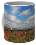 View From Mt Auburn Cemetery Tower Coffee Mug