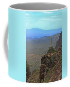 View From Parker Creek Canyon Coffee Mug