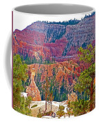 View From Queen's Garden Trail In Bryce Canyon National Park-utah Coffee Mug