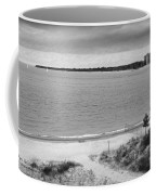 View From The Fort Gratiot Light House Coffee Mug