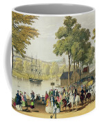 View From The North Bank Of The Serpentine Coffee Mug