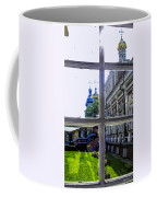 View From The Novodevichy Convent - Russia Coffee Mug