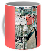 View From The Top Of Munich City Hall Coffee Mug
