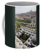 View From The Valens Aqueduct In Istanbul Coffee Mug