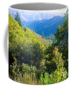 View From Trail To West Point Inn On Mount Tamalpais-california  Coffee Mug