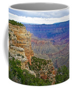 View From Walhalla Overlook On North Rim Of Grand Canyon-arizona  Coffee Mug