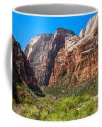 View From Weeping Rock Coffee Mug