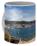 View Of A Harbor From A Castle, St Coffee Mug