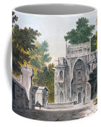 View Of A Mosque At Chunar Gur Coffee Mug by William Hodges