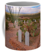 View Of Arizona From Boothill Cemetery Coffee Mug