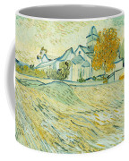 View Of Asylum And Saint-remy Chapel Coffee Mug by Vincent van Gogh