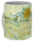 View Of Asylum And Saint-remy Chapel Coffee Mug by Vincent van Gogh