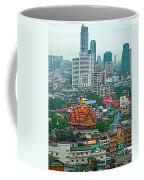 View Of Bangkok Buildings From Grand China Princess Hotel In Bangkok-thail Coffee Mug