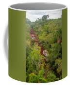 View Of Cano Cristales In Colombia Coffee Mug