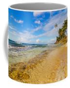 View Of Caribbean Coastline Coffee Mug