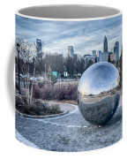 View Of Charlotte Nc Skyline From Midtown Park Coffee Mug