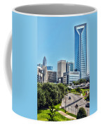 view of Charlotte North Carolina Coffee Mug