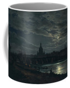 View Of Dresden By Moonlight Coffee Mug