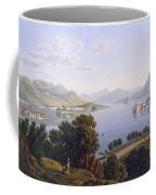 View Of Lake Maggiore And The Borromean Coffee Mug