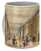 View Of Long Hall At Haddon Coffee Mug by Joseph Nash