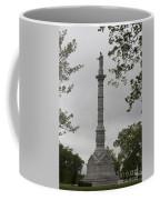 View Of Monument At Yorktown Coffee Mug by Teresa Mucha