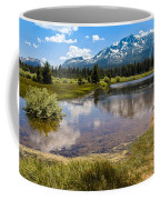 View Of Mount Tallac From Taylor Creek Beach Lake Tahoe Coffee Mug