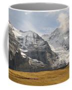 View Of Mt Eiger And Mt Monch, Kleine Coffee Mug
